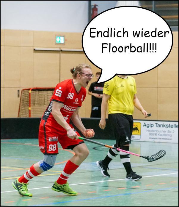 Endlich weider Floorball!